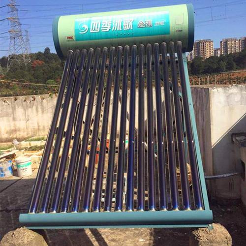 太阳能热水器案例